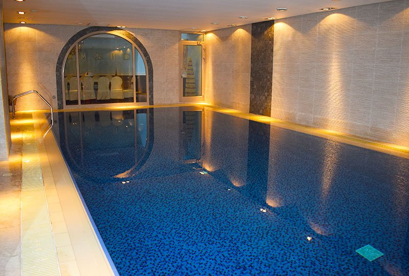 Atlasblue Residential indoor overflow pool 1 - Kuwait
