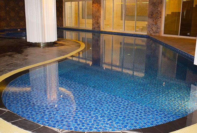 Atlasblue Residential indoor overflow pool 3 - Kuwait
