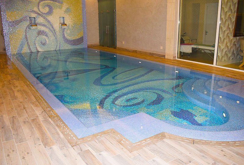 Atlasblue Residential indoor overflow pool 4 - Kuwait