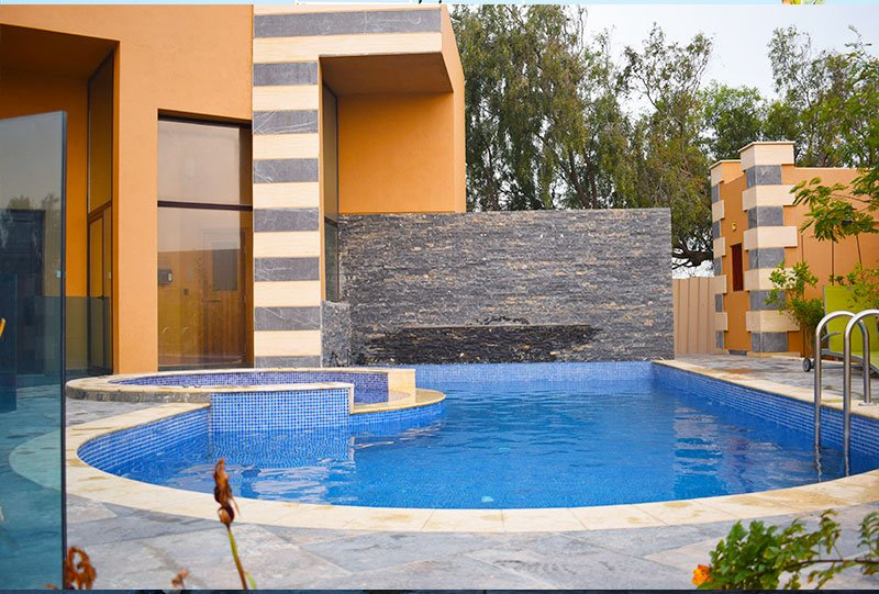Residential outdoor Jacuzzi 6 - Atlasblue Kuwait