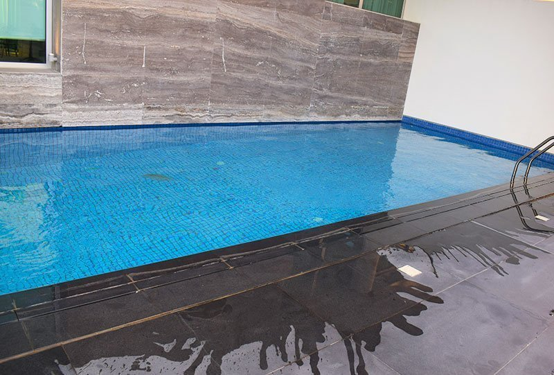 Residential Outdoor Skimmer Pool 12 - Atlasblue Kuwait