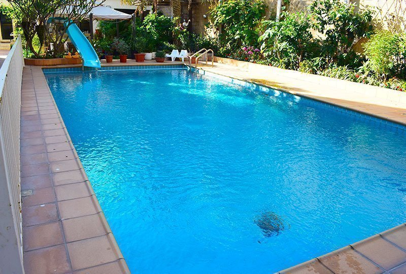 Residential Outdoor Skimmer Pool 14 - Atlasblue Kuwait