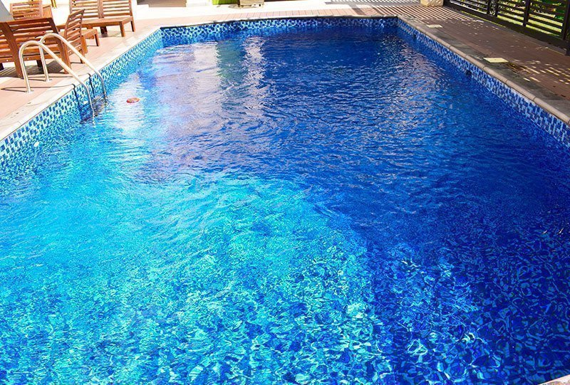 Residential Outdoor Skimmer Pool 15 - Atlasblue Kuwait