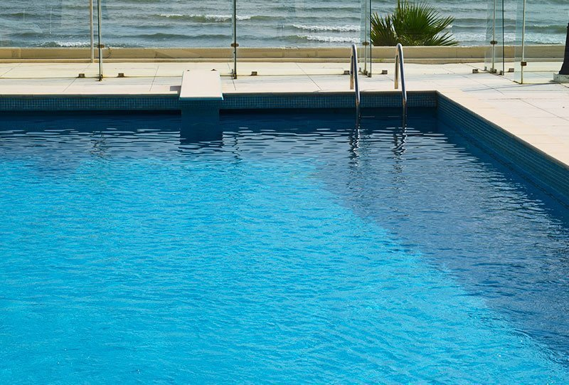 Residential Outdoor Skimmer Pool 2 - Atlasblue Kuwait