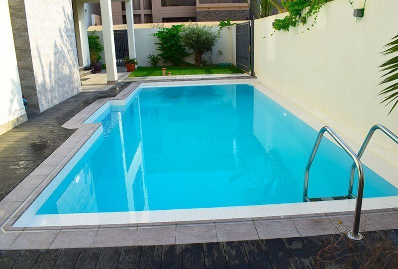Residential Outdoor Skimmer Pool 22 - Atlasblue Kuwait