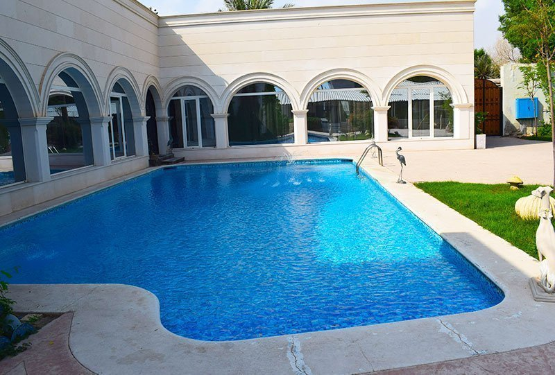Residential Outdoor Skimmer Pool 23 - Atlasblue Kuwait