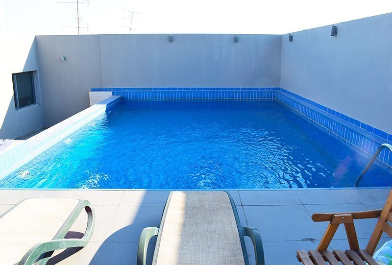 Residential Outdoor Skimmer Pool 24 - Atlasblue Kuwait
