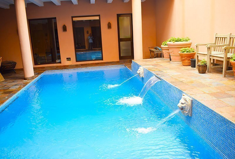 Residential Outdoor Skimmer Pool 25 - Atlasblue Kuwait