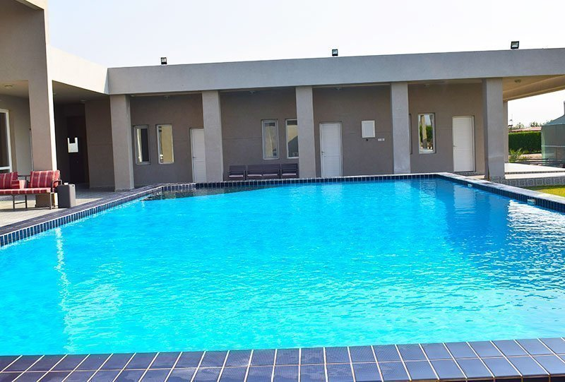 Residential Outdoor Skimmer Pool 28 - Atlasblue Kuwait