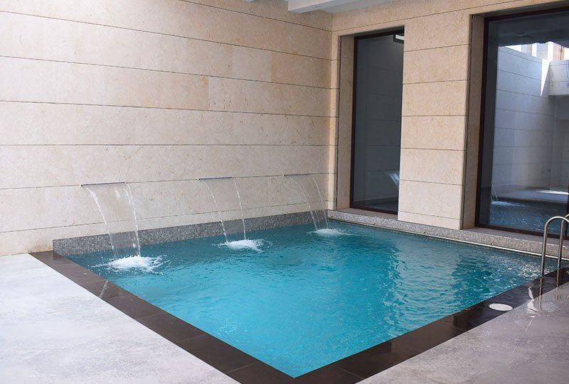Residential Outdoor Skimmer Pool 3 - Atlasblue Kuwait