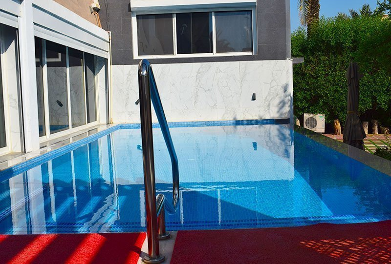 Residential Outdoor Skimmer Pool 30 - Atlasblue Kuwait
