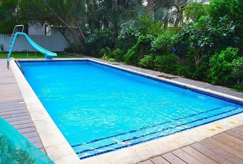 Residential Outdoor Skimmer Pool 31 - Atlasblue Kuwait