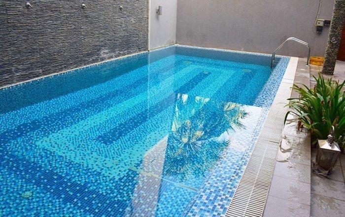 Residential Outdoor Skimmer Pool 35 - Atlasblue Kuwait