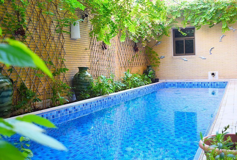 Residential Outdoor Skimmer Pool 37 - Atlasblue Kuwait
