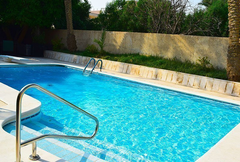 Residential Outdoor Skimmer Pool 5 - Atlasblue Kuwait