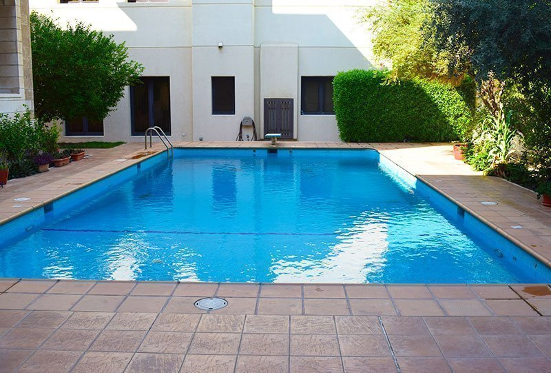 Residential Outdoor Skimmer Pool 6 - Atlasblue Kuwait