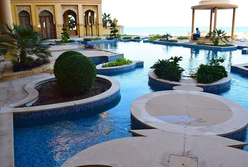 Residential Outdoor Skimmer Pool 8 - Atlasblue Kuwait