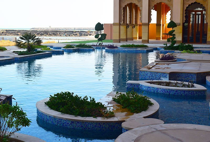 Residential Outdoor Skimmer Pool 9 - Atlasblue Kuwait