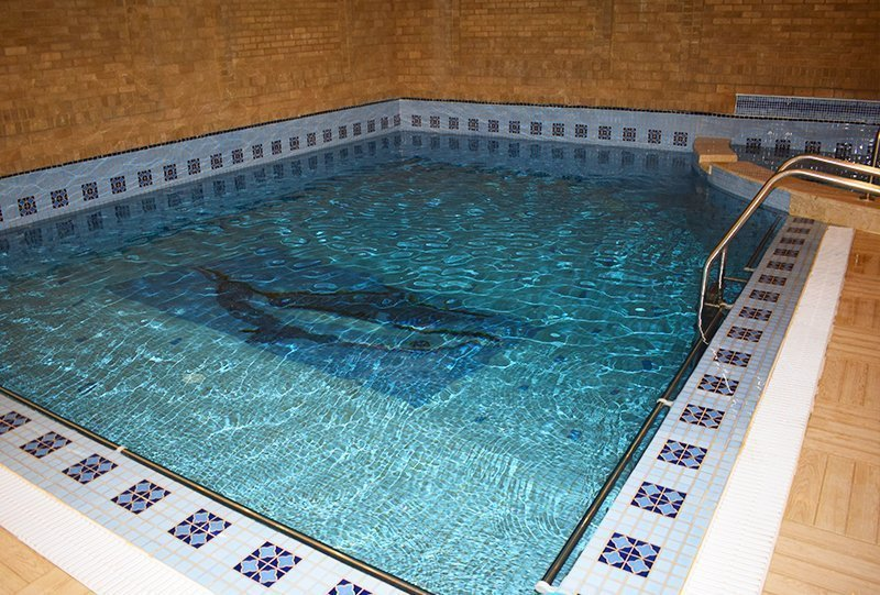 atlasblue commercial indoor skimmer pool 1 - Kuwait