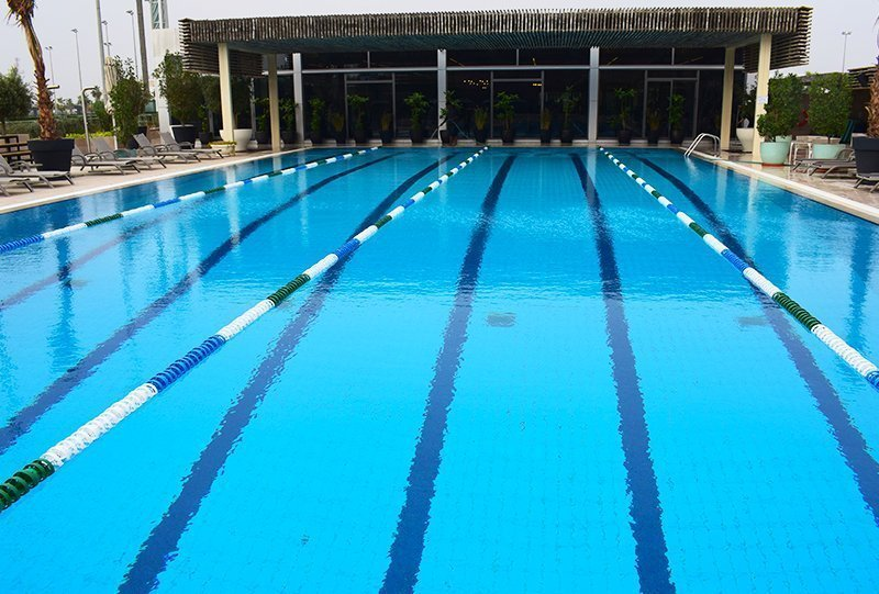 Atlasblue Commercial Outdoor Overflow Pool 4 - Kuwait